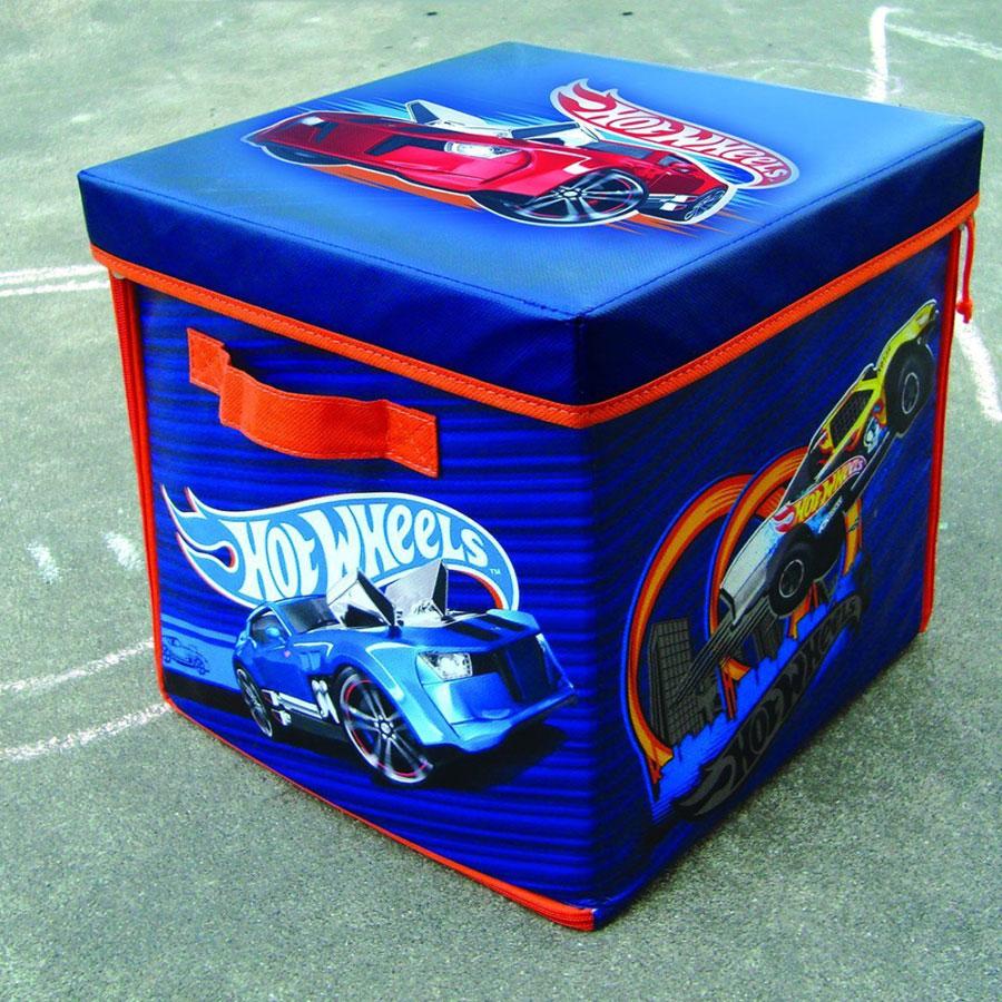 & Hot Wheels ZipBin 300 Car Storage Cube