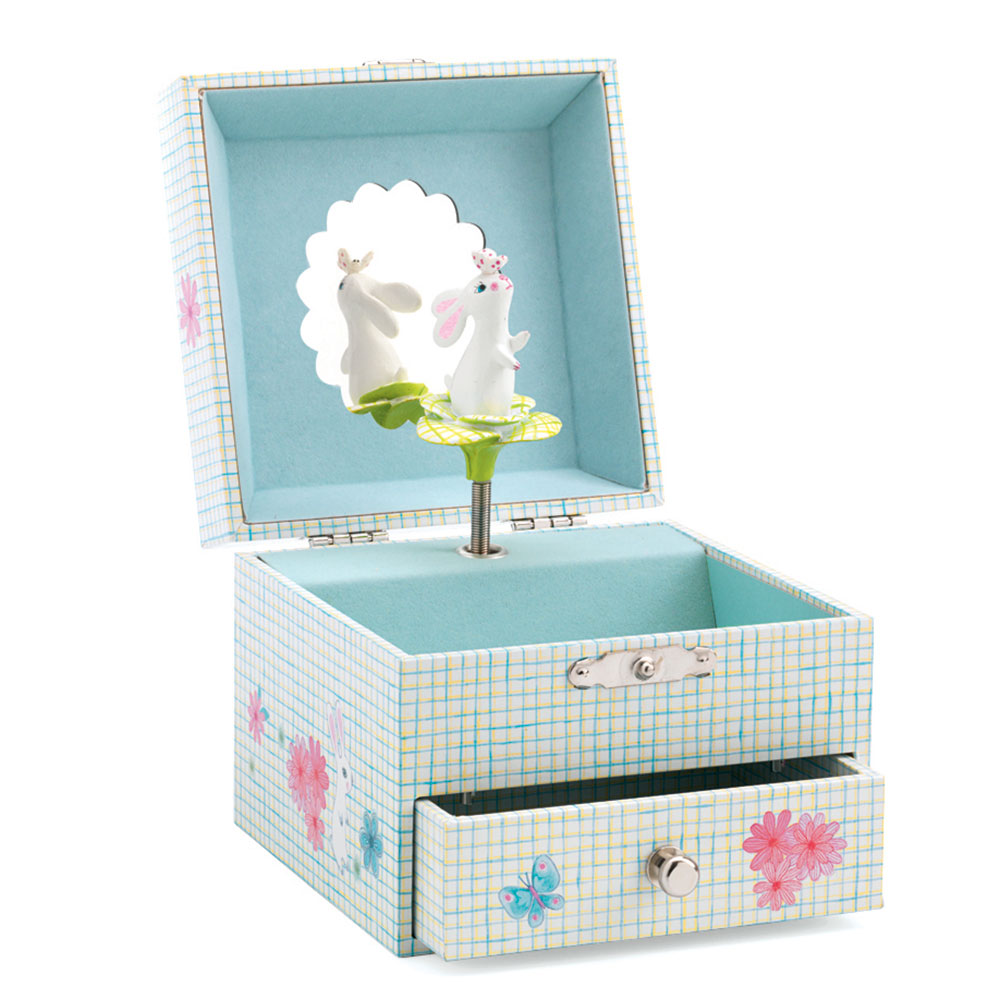 Djeco Sweet Rabbit's Song Musical Jewelry Box