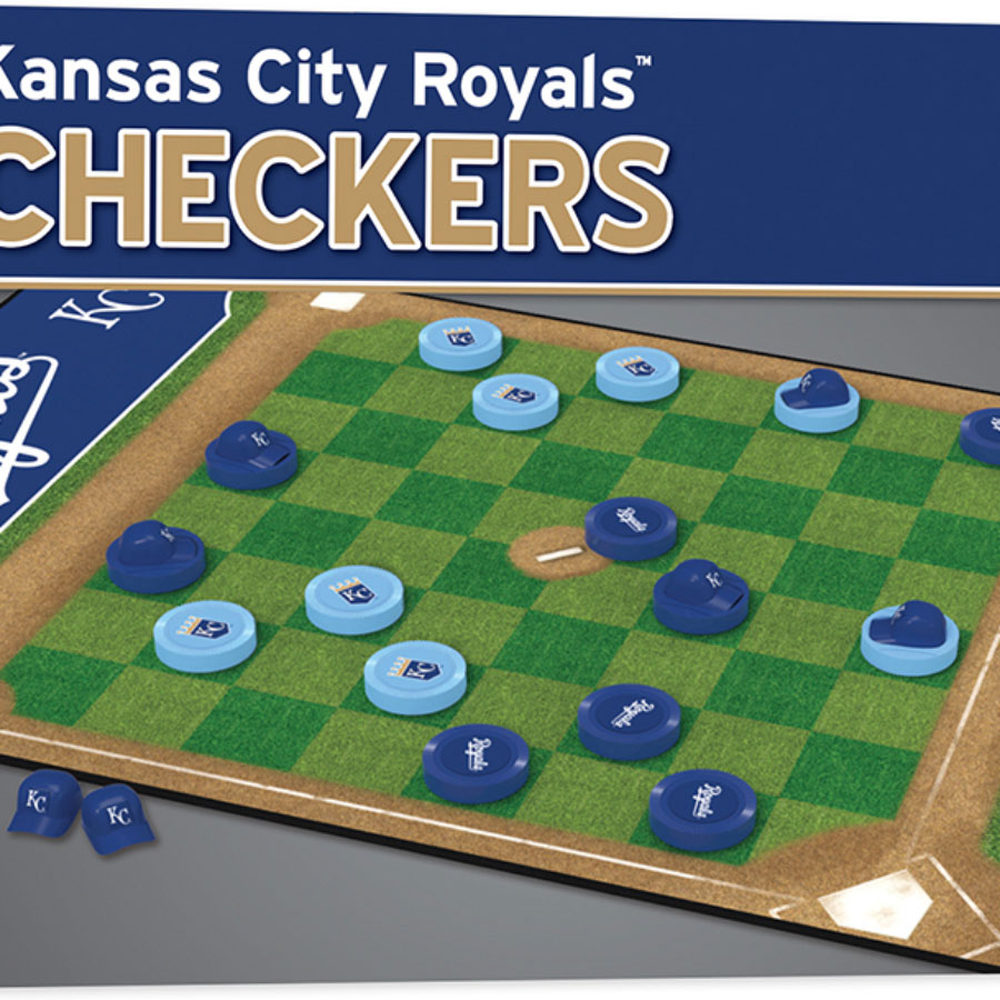 babe67b70196 KC Royals Checkers - - Fat Brain Toys