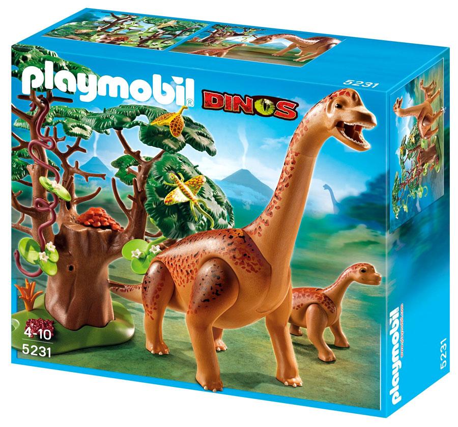 Dinosaurs Mdf Toy Box Childrens Storage Toys Games Books: Brachiosaurus With Baby