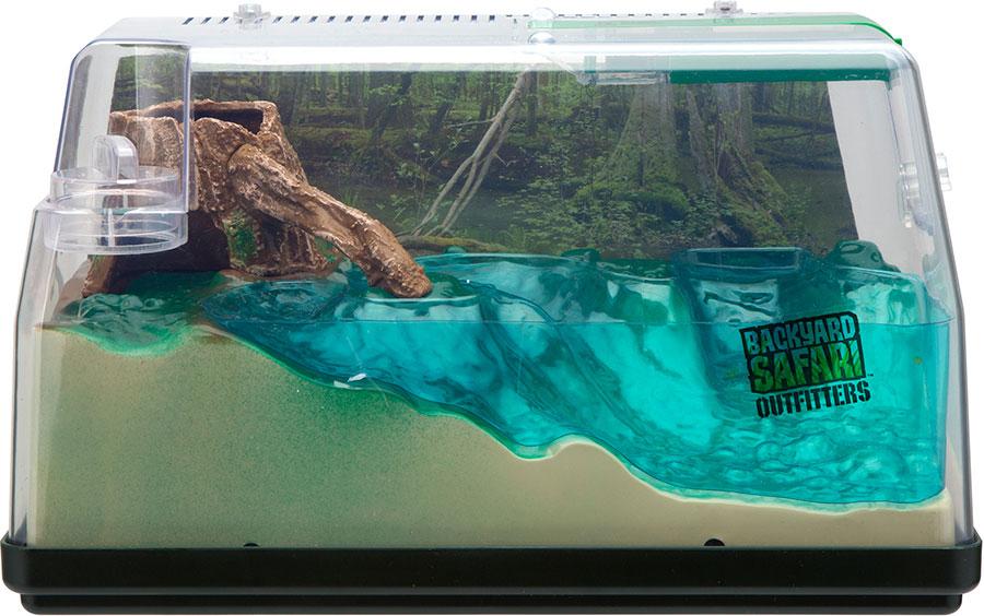 Backyard Safari Lighted Land & Water Habitat - - Fat Brain ...