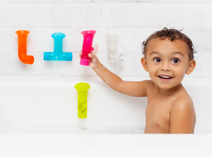 Boon Pipe Building Bath Toy