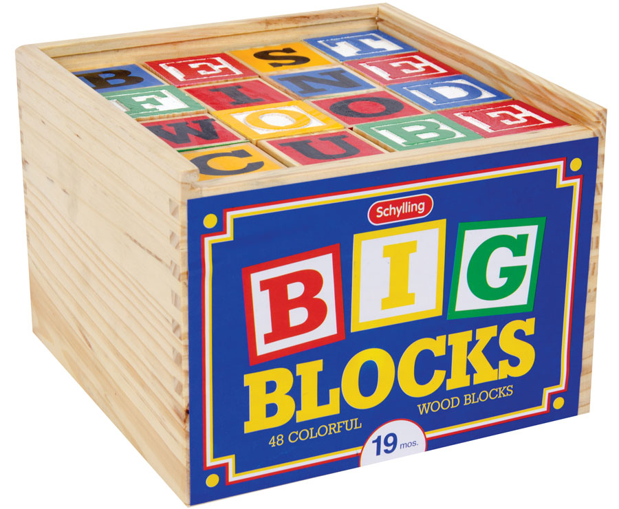 Big Wood Blocks ~ How to build a toy box out of wood