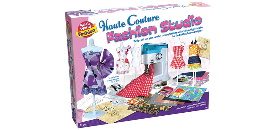 Toys For Age 9 : Fashion studio with sewing machine