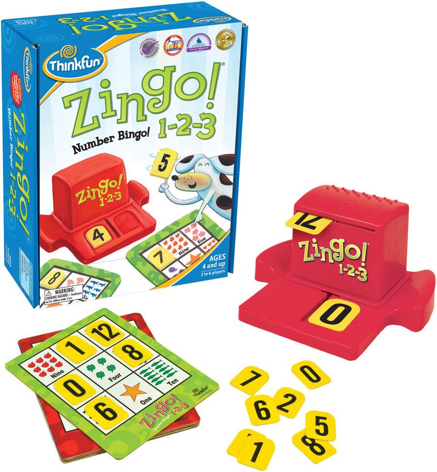 Thinkfun Circuit Maze Zingo 1 2 3