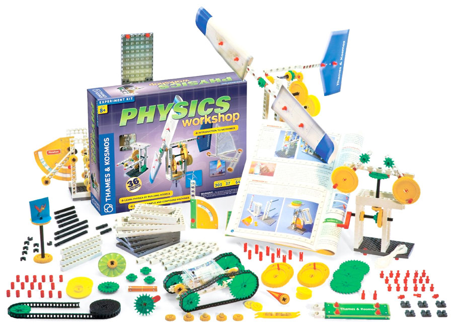 8 Year Old Construction Toys : Physics workshop