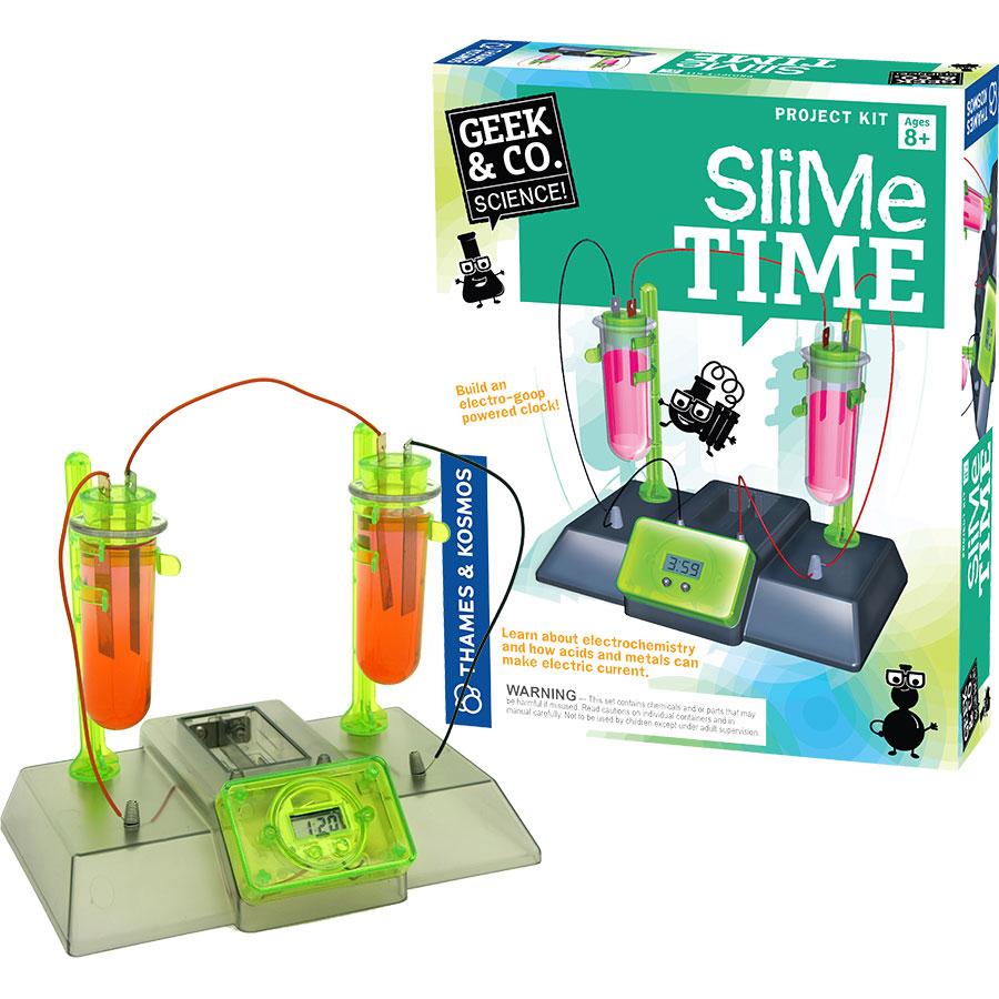 Geek Toys Science : Geek co slime time