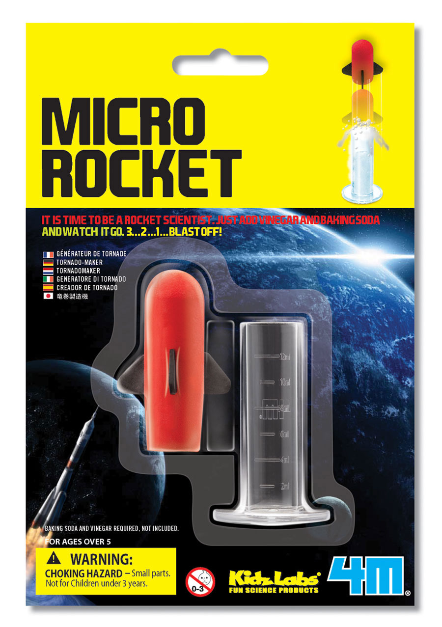 vinegar rocket launcher Just recently i bought the cosmic rocketit was a mistakethe tube that contained the baking soda and vinegar was so tight that the rocket could not build.