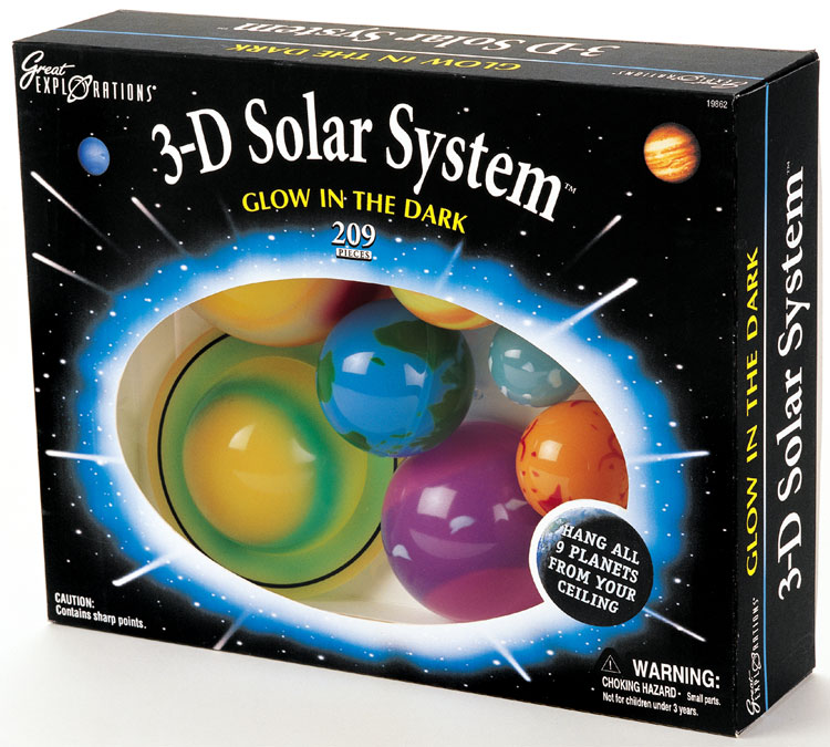 Solar System And Planet Toys : D solar system