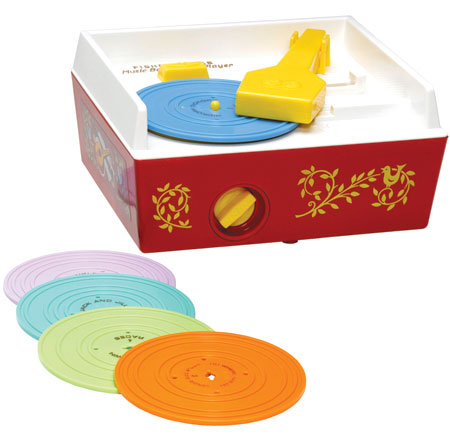 Fisher Price Classic Toy Record Player