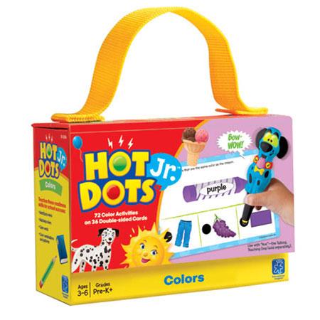 Hot Dots Jr. Card Set - Beginning Phonics