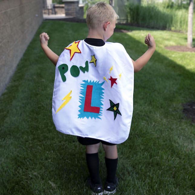 Surprise Ride - Design a Superhero Cape Kit
