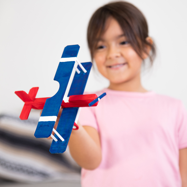 Surprise Ride - Make a Model Plane Activity Kit