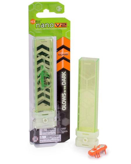 Hexbug Promo Code >> Hexbug Nano V2 1pk Glow in the Dark