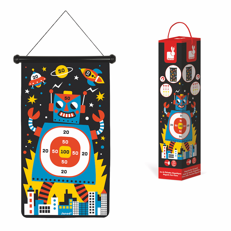 0be2a0e4 Magnetic Dart Game - Robots