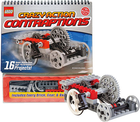 Klutz LEGO Crazy Action Contraptions Birthday Gifts for 7-Year-Old Boys - Toys