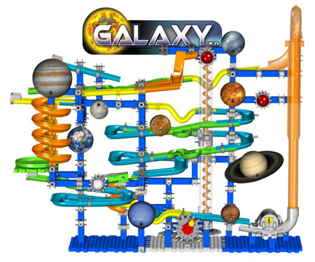 Space Series Techno Gears Marble Mania Galaxy 2 0