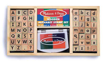 Alphabet Stamp Set Sku MD893