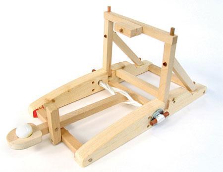Pathfinders Wooden Trebuchet Kit