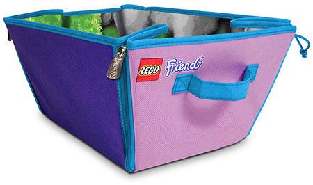 Lego Friends Zipbin 3000 Brick Storage Basket