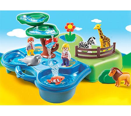 Playmobil 123 Take Along Zoo Amp Aquarium