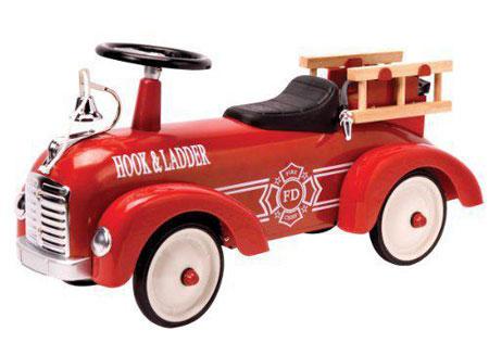 Metal Speedster Fire Truck