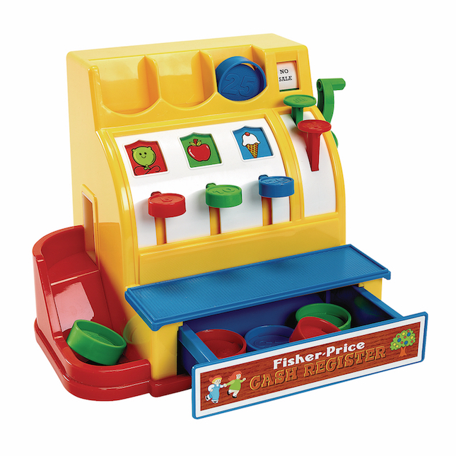 Fisher Price Cash Register Best Classic Retro Toys For Ages 2 To 4