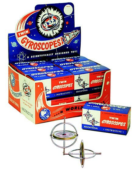 Original TEDCO Gyroscope - Nostalgic Twin Pack