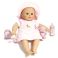 Baby Cuddles - 14 inch Doll with Hat