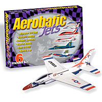 Aerobatic Jets with Display Stands