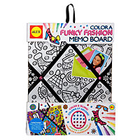 Color a Memo Board - Fashion Fun