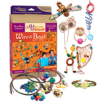Wire & Bead Art Kit