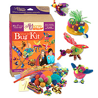 Wool Felt Bug Kit
