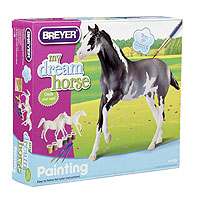 Paint Your Own Horse Activity Kit - Quarter Horse and Saddlebred