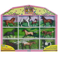Stablemates Horse Lovers Collection Shadow Box