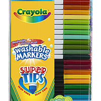 50 ct. Washable Super Tip Markers