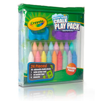Washable Sidewalk Chalk Play Pack