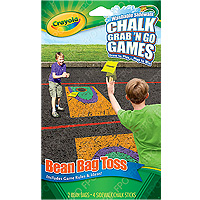 Chalk Grab 'N Go Games - Bean Bag Toss