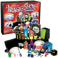 Deluxe 100 Trick Magic Suitcase with DVD