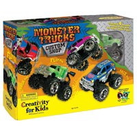 Monster Trucks Custom Shop