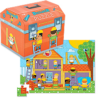 48-Piece Puzzle - Little Builder