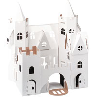 Cardboard Decorate-it-Yourself Palace