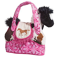 Rodeo Pink Sak with Horse