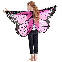 Dreamy Dress-Ups Monarch Wings - Glitter Pink