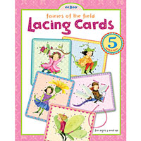 Fairies in the Field Lacing Card