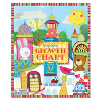 Animal Tower Growth Chart