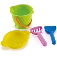 Beach Basics Sand Toys Set
