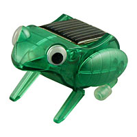 Happy Hopping Solar Powered Frog