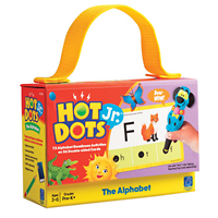 Hot Dots Jr. Card Set - The Alphabet