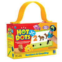 Hot Dots Jr. Card Set - Numbers & Counting